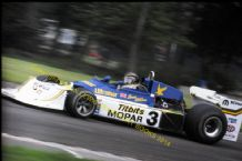 "MARCH 75A Bruce Allison Donington Park Aurora F1 1978 10x7"" photo"